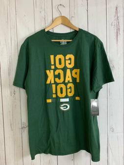 Nike Men's The Nike Tee Green Bay Packers Go Pack Go Shirt S