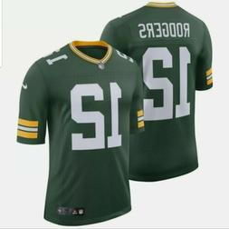 NEW NIKE AARON ROGERS 4XL GREEN BAY PACKERS STITCHED HOME JE