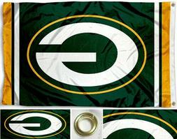 NEW Green Bay Packers Flag Large 3'X5' NFL Banner FREE SHIPP