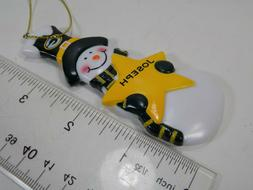 """NEW GREEN BAY PACKERS """"JOSEPH"""" PERSONALIZED CHRISTMAS ORNAME"""