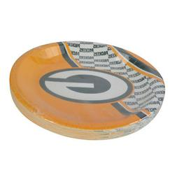 """New NFL Green Bay Packers 9.75"""" Disposable Paper Plates Part"""