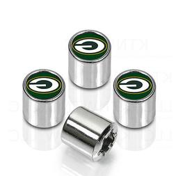 New NFL Green Bay Packers Car Truck Chrome Finish Tire Valve