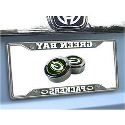 New NFL Green Bay Packers Car Truck Chrome Metal License Pla