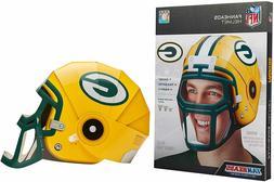 NEW NFL Green Bay Packers Cardboard Football Helmet - Adjust