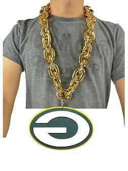 new nfl green bay packers gold fan