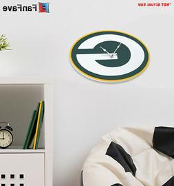New NFL Green Bay Packers Home Decor EVA Foam 3D Wall Clock