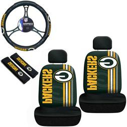 New NFL Green Bay Packers Printed Logo Car Truck 2 Front Sea