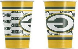 NFL 20  - 16oz. Paper Cups, Green Bay Packers, NEW
