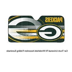 NFL Green Bay Packers Universal Auto Shade, Large, Green