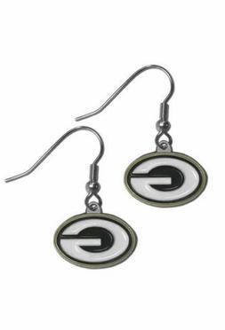 Green Bay Packers NFL  Dangle Earrings