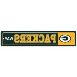 Wincraft NFL Football Green Bay Packers Way Plastic Street W