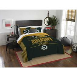 NFL Green Bay Packers 3 Pc FULL / QUEEN SIZE Comforter / Sha