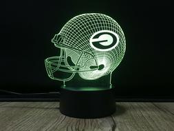 NFL green bay packers  3D illusion Color Change LED Night Li
