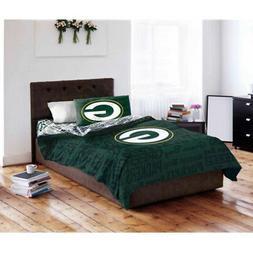 NFL Green Bay Packers Bedding Set QUEEN