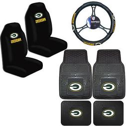 NFL Green Bay Packers Car Truck Seat Covers Floor Mats & Ste