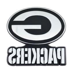 Fanmats NFL Green Bay Packers Diecast 3D Chrome Emblem Car T
