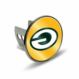 Rico NFL Green Bay Packers Chrome Trailer Hitch Cover New Me