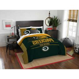 NFL Green Bay Packers Comforter Twin Set Sports Patterned Be