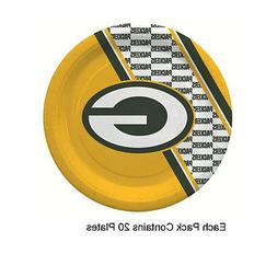 NFL Green Bay Packers Disposable Paper Plate