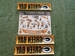 NFL GREEN BAY PACKERS  Football  Large Family Decal &  Bumpe