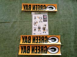 NFL GREEN BAY PACKERS  Football  Small Family Decal &  Bumpe