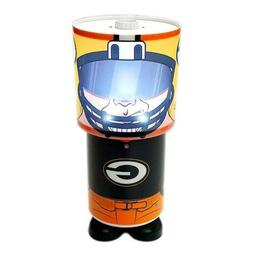 NFL Green Bay Packers Game Night Logo Rotating Desk Lamp Ill