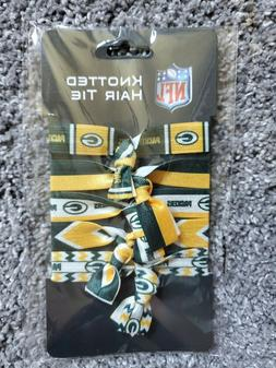 NFL Green Bay Packers Knotted Hair Ties