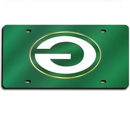 NFL Green Bay Packers Laser Cut Auto Tag