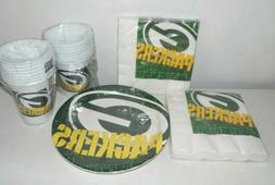 NFL Green Bay Packers Lot of Party Supplies Cups Napkins Pla