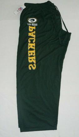 NFL Green Bay Packers Pajama Sleepwear Lounge Bottoms Green