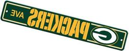 NFL Green Bay Packers Plastic Street Sign