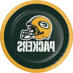 NFL GREEN BAY PACKERS SMALL PAPER PLATES  ~Birthday Party Su