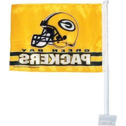 NFL Green Bay Packers Car Flag