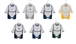 NFL Infant Boy's Interception Pant Set with Creeper & Bib 3-
