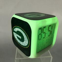 Green Bay Packers LED Digital Alarm Clock Watch Lamp Decor A