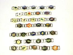 NFL~~~OVAL CHARMS FOR SHOELACES AND PARACORD BRACLET~~~PICK
