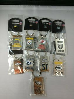 NFL Slogan Keychains New