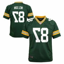 Nike NFL Toddlers Green Bay Packers Jordy Nelson #87 Game Te