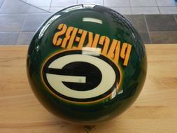 NIB 15# OTB NFL Green Bay Packers Bowling Ball