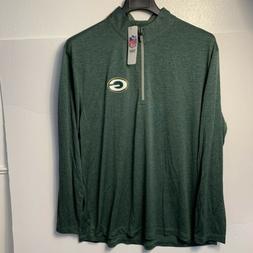 nwt green bay packers 1 4 zip