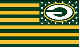Packers FLAG 3X5 Green Bay Banner American Football New Buy