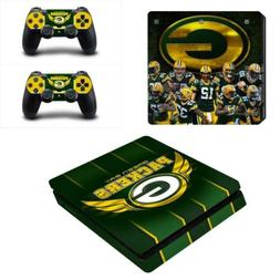 PS4 Slim Console Controllers Vinyl Skin Decals Stickers NFL
