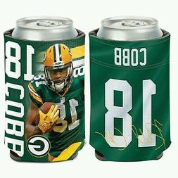 RANDALL COBB GREEN BAY PACKERS Can Bottle Coozie Cooler FREE