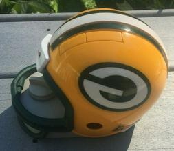 Rare Green Bay Packers Riddell Mini Helmet Tape Dispenser Aa