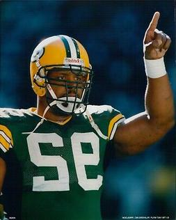 Reggie White Green Bay Packers Licensed NFL Unsigned Glossy
