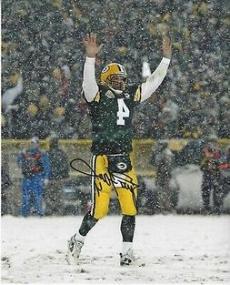 Reprint Brett Favre Autographed Green Bay Packers 8X10 PHOTO