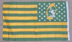Retro Green Bay Packers 3x5 Ft American Flag Football  New I
