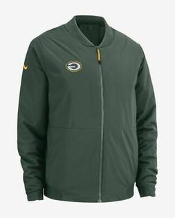 Nike Shield Mens NFL Green Bay Packers Bomber Jacket Coat Gr