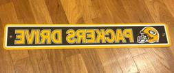 """Street Sign - Green Bay Packers - """"PACKERS DRIVE"""" - 24"""" x 4"""""""