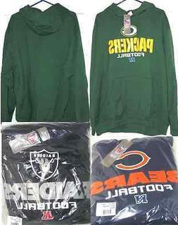 NFL Team Sweatshirt Hoodies Team Apparel Packers Bears Raide